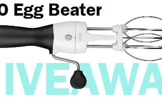 OXO Egg Beater Giveaway – Over