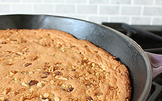 Brown Sugar Skillet Cake