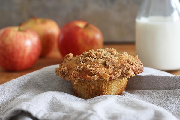 Apple Pie Inspired Muffins