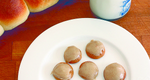 Pumpkin Cake Cookies with Brown Butter Icing