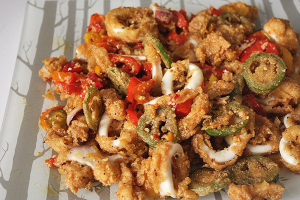 Calamari with Hot Peppers | Kitchen Trials