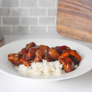 quick and easy orange chicken