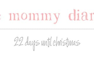 The slow drain of all my wits – AKA 22 days to go until Christmas