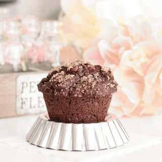ultimate tripple chocolate muffins