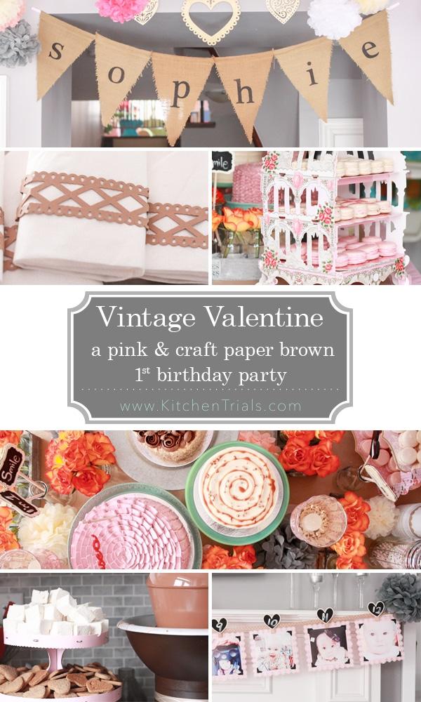 vintage valentines pin pic