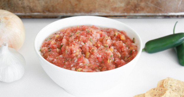 5 minute fresh salsa