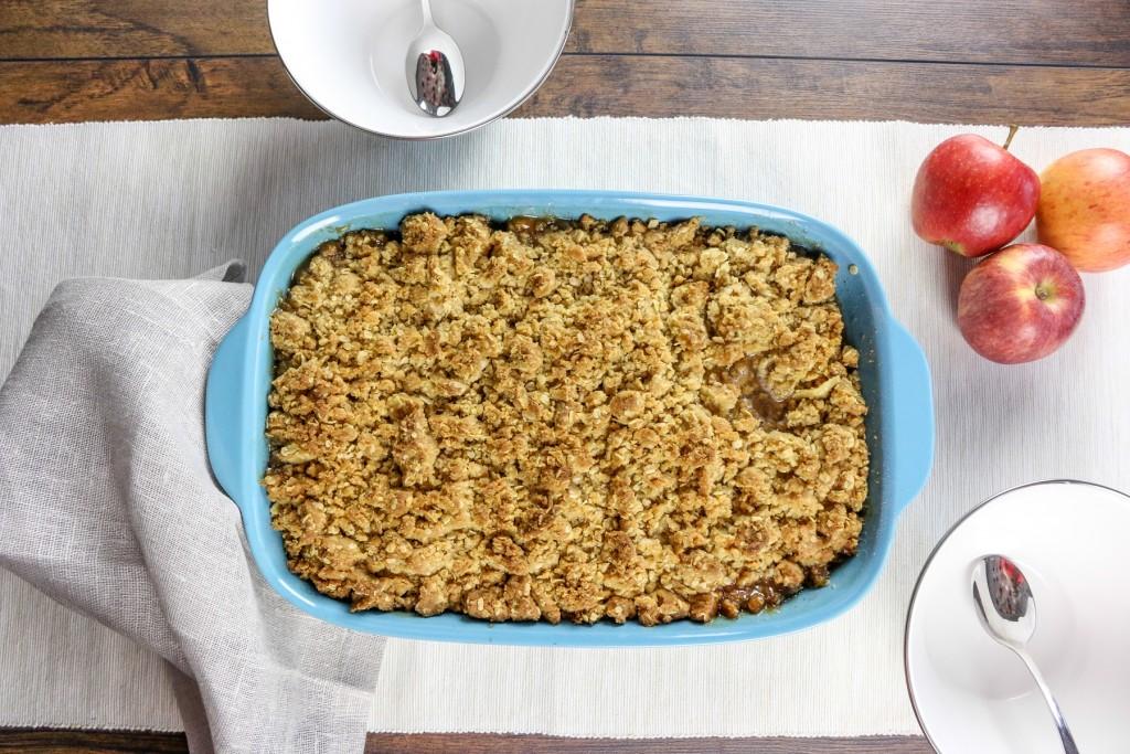 Easy Apple Crisp Recipe With Yellow Cake Mix